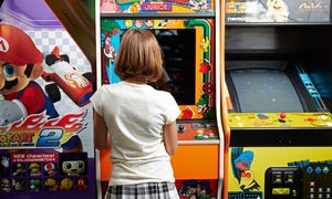 90 Minutes Of Arcade Play For Four Or Eight, Or A Two-hour Party At Gcw Retro-cade (up To 50% Off)