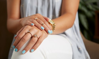 One or Three Shellac or Gelish Manicure Sessions or One Shellac Pedicure at Elysees Hair & Nail Salon (Up to 44% Off)