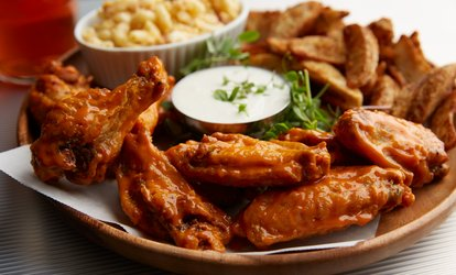 image for Ribs and Wings at Wings Empire (Up to 40% Off). Two Options Available.
