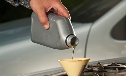 Basic or Synthetic Oil Change Package or Smog Test at Meineke Car Care Center (Up to 51% Off)