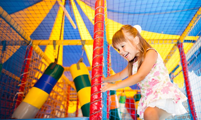 Kidz Playground - Northland: Sky Maze and Laser Tag Package for One, Two, or Four Children at Kidz Playground (Up to 45% Off)
