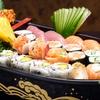 Menu sushi con barca