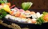 Noyi restaurant japanese - Milano: Menu sushi con barca da 50 pezzi per 2 o 4 persone in zona Navigli da Noyi Restaurant Japanese (sconto fino a 64%)