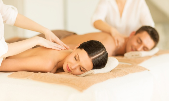 Moksha Spa and Wellness Center - The East End: $159 for a Couples Spa Package with Massage and Beverage at Moksha Spa and Wellness Center ($350 Value)