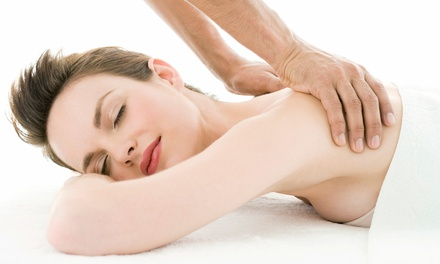 One or Three 60-Minute Swedish or Deep-Tissue Massages at A Time and Place Massage (Up to 53% Off)