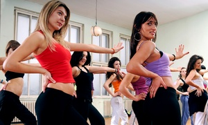 Gina's Studio for Dance and Fitness: 5 or 10 Classes at Gina's Studio for Dance and Fitness (Up to 50% Off)