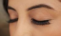 Full Set of Eyelash Extensions or an LVL Lash Treatment with a Brow and Lash Tint at Lavish Locks Hair