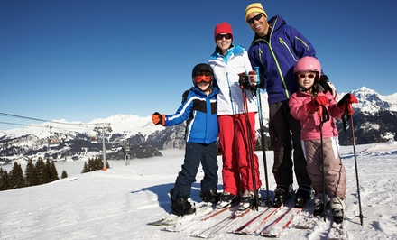 One-Day Ski Lift Ticket for One or Two at Alpine Mountain Resort (Up to 50% Off)
