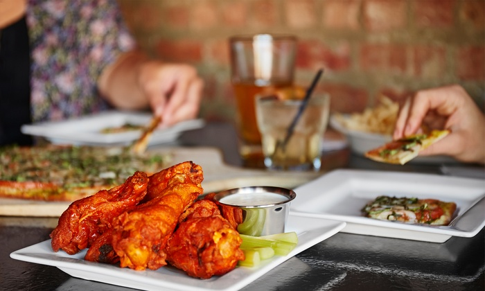 OH Pizza & Wings - Oh Pizza & Wings: $12 for $20 Worth of Pizza, Wings, and Ice Cream at OH Pizza & Wings