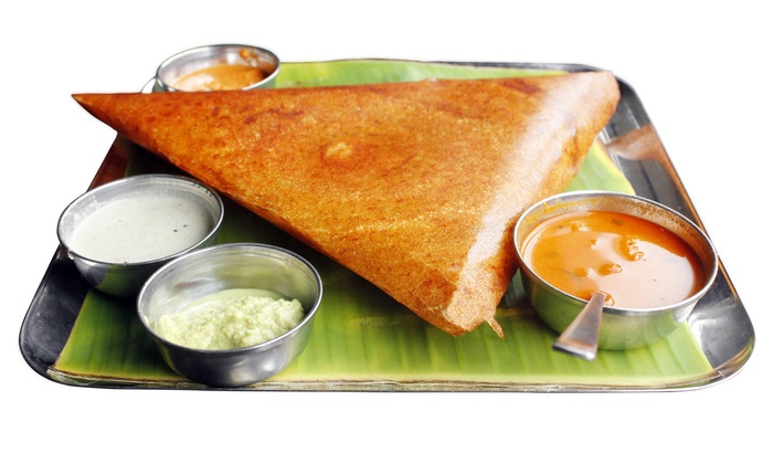 Dosa Hut Chat House - Dosa Hut Chat House: Indian Food at Dosa Hut Chat House (40% Off). Two Options Available.