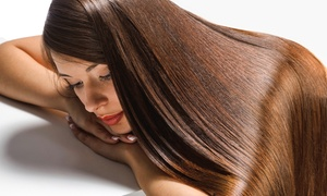 InStyle Salon & Spa: Keratin Hair Smoothing Treatment at InStyle Salon Spa (Up to 73% Off)