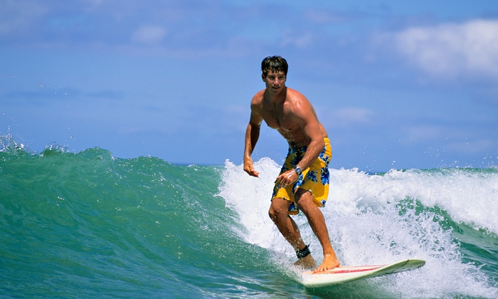 MiraCosta Surf Lessons and Board Rentals - Townsite: One or Two Hours of Surfing Lessons for One or Two at MiraCosta Surf Lessons and Board Rentals (Up to 52% Off)