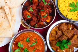 Paradise Biryani Pointe Indian Cuisine of Austin: Dinner for Two or Lunch Buffet for Two at Paradise Biryani Pointe Indian Cuisine of Austin (Up to 35% Off)