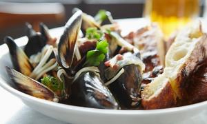 Italian Dinner for Two or Four or Lunch for Two at Ristorante i Ricchi (Up to 64% Off)