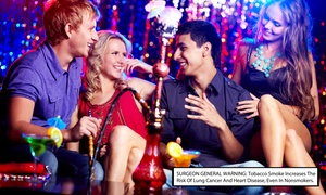The Social Lubricant: One Hookah with Two or Four Well Drinks at The Social Lubricant (Up to 59% Off)