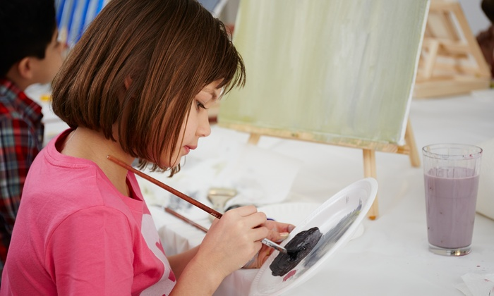 Creative Kids Place - Erin Mills: C$79 for 10 Children's Art Classes at Creative Kids Place (C$159 Value)
