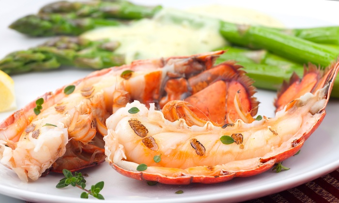 North Shore Grill - Lakeville: Wood-grilled Steak and Seafood at North Shore Grill (42% Off). Two Options Available.