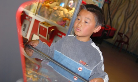 $50 or $110 Pass for the Game Mania Arcade at Playdrome Family Entertainment (Up to 55% Off)