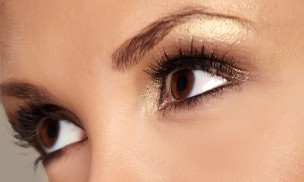 Permanent Makeup for Eyebrows or Eyeliner at Studio 58 (Up to 52% Off). Three Options Available.