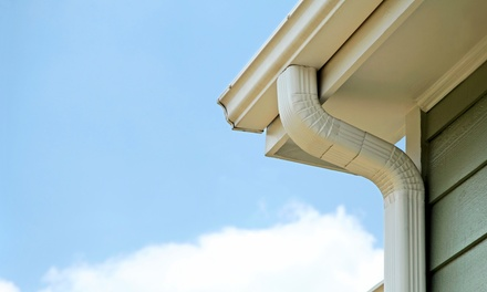 Premium Package Gutter Cleaning from American Dream Home Remodeling (Up to 54% Off). Three Options Available.