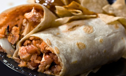 $12 for $20 Worth of Tex-Mex Food at Burrito Burrito
