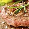 Western-Steaks mit Beilagen