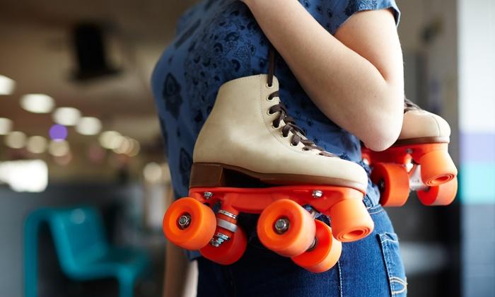 Hot Skates Roller Skating Center - Hot Skates Roller Skating Rink: Roller-Skating Package for Two or Four at Hot Skates Roller Skating Center (Up to 52% Off)