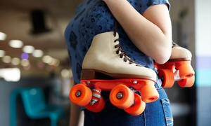 Roller-Skating Package for Two or Four at Hot Skates Roller Skating Center (Up to 57% Off)