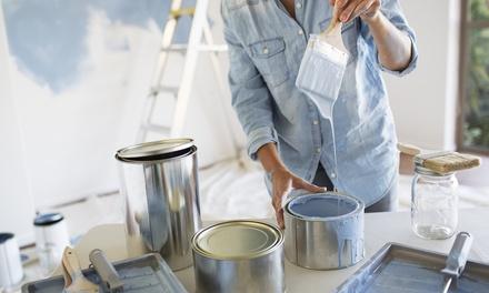 Imbiancatura e pulizie della casa