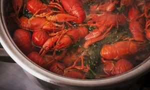 Boiling Crawfish: $11 for $20 Worth of Authentic Louisianna Live Seafood and creole food at Boiling Crawfish