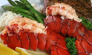 Castagnola's: Steaks, Seafood, and Drinks at Castagnola's (Up to 36% Off). Two Options Available.