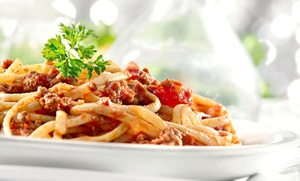 Fred's Italian Corner: Three-Course Dinner for Two or Four, Lunch for Two or Four, or Take-Out at Fred's Italian Corner (Up to 47% Off)