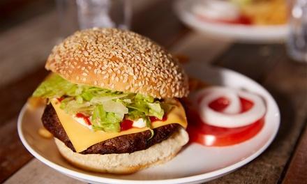 Menú para 2 o 4 con entrante, hamburguesa, postre y bebida desde 19,95 € en Cillis Caffe The Bistro
