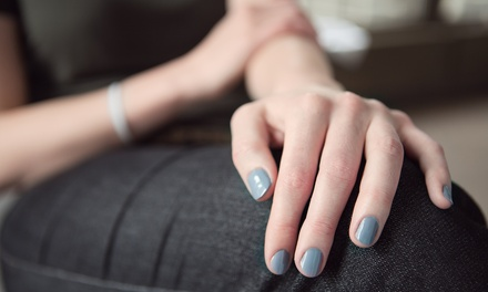 One Shellac Manicure with Optional Pedicure or Three Shellac Manicures at Natural Beginnings Spa (Up to 57% Off)