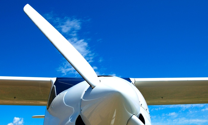 St. Charles Flying Service - Portage Des Sioux: $54 for an Introductory Flight Lesson at St. Charles Flying Service ($109 Value)