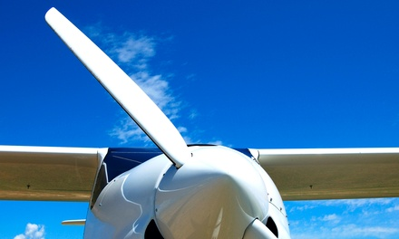$179 for Intro Flight Lesson & a 2-Hour Ground School Night Class at American Flight Academy ($400 Value)