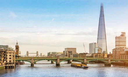 London: 1 Night for Two with Breakfast, Wine and Spindles Access at Britannia International Hotel London