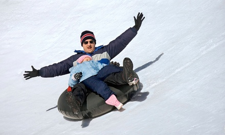 Snow Tubing for Two at Mount Pleasant of Edinboro (Up to 50% Off). Two Options Available.