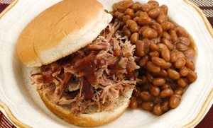 Elmers Texas Barbeque: 60% off at Elmers Texas Barbeque