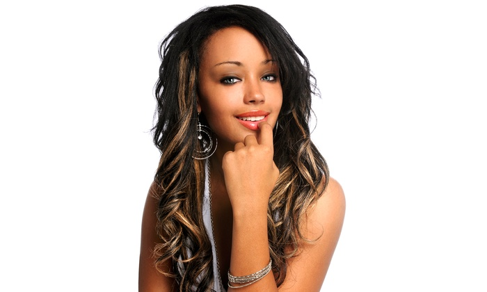 Celebrity Stylez Salon - Lansdowne: Partial or Full Vixen Hair Extensions Sew-In with Optional Thermal Styling  at Celebrity Stylez Salon (50% Off)