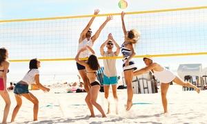 Le Palme SSD: 5 o 10 lezioni di beach volley per una o 2 persone con Le Palme SSD (sconto fino a 83%)