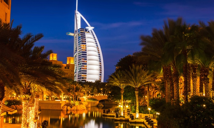 Dubai and Abu Dhabi Vacation with Airfare from go-today in