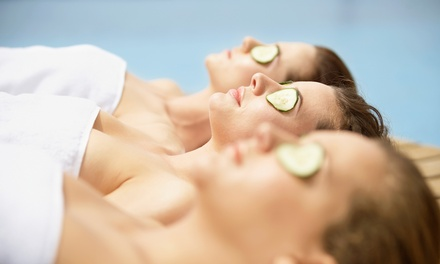 Spa Party with Wine for Five or 24K Gold Facial Package at Spa Revive (Up to 58% Off)