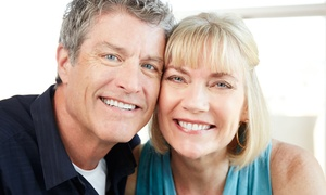 Pearly Whites Express: 20-, 30-, 40-, 60-, 80-, or 120-Minute Teeth-Whitening Treatment at Pearly Whites Express (Up to 86% Off)