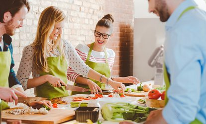 One <strong>Cooking</strong> Class for One, Two, or Four from Edible Adventures at Platt College (Up to 54% Off)