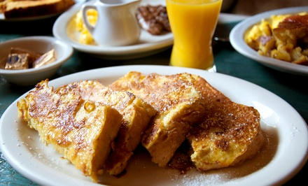 Classic Diner Food at Mrs. K's Koffee Shop & Diner (Up to 43% Off). Two Options Available.