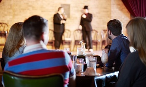 The Comedy Cove at Scotty's: Comedy Show for Two or Four with Wings or Mozzarella Sticks at The Comedy Cove At Scotty's (Up to 54% Off)