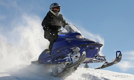 C$125 for a 90-Minute Snowmobile Tour for Two at Cottage Country Tours (C$240 Value)