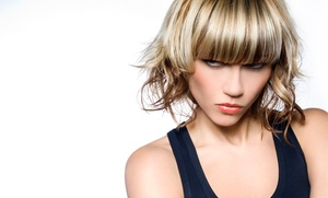 Simply Stylin' Salon: Haircut with Partial or Full Highlights at Simply Stylin' Salon (Up to 52% Off)