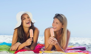 E-Z Tan: UV and Spray Tanning at E-Z Tan (Up to 88% Off). Two Options Available.